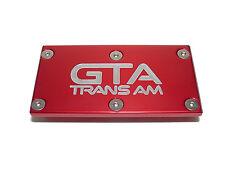 TPI Throttle Body Plate Pontiac Firebird GTA Trans am G Red