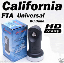 FTA Universal Single 0.2 dB Ku Band Satellite Dish LNB Avenger KSC321S-2 HD
