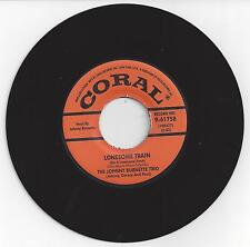 Johnny Burnette * Rock N' Roll Trio-Lonesome Train /I Just Found Out-Coral 61758