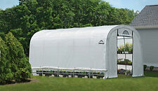 ShelterLogic 12x20 Greenhouse Round Organic Pro Series Portable Greenhouse 70592