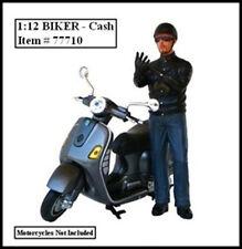 BIKER CASH FIGURE FOR 1:12 MODELS BY AMERICAN DIORAMA 77710