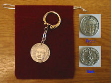 Music Gifts Bach Pewter Keyring Collectable charm NEW
