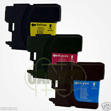 3Color LC61 Ink Cartridge for Brother MFC-490CW Printer