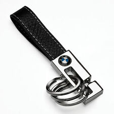 BMW 3 Key Ring / Black Leather  80232209854