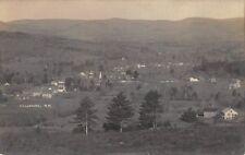 Real Photo Postcard Birds Eye View of Bradford, New Hampshire~109312