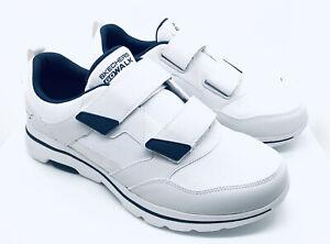Skechers Go Walk 5 Wistful 55515 Walking Sneakers Men's US 9.5 M White/Navy New