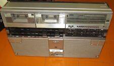 Sharp GF-555X Radio Vintage Ghettoblaster Boombox 40W Stereo Radio Tape Recorder