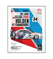 "HOLDEN COMMODORE VT POSTER - FAI 1000 BATHURST 2000 - 50 x 40 cm 20"" x 16"""