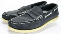 Sperry Top-Sider Men's $94 Penny Loafers Boat Shoes Size 7 Leather Black