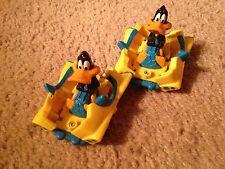 Vintage Daffy Duck Toy - Daffy Car - Two Cars
