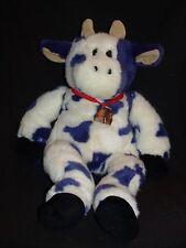 "Zany Brainy Kids Preferred Zamoo Purple White COW Backpack Bell Small Set 20"""