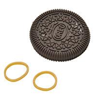 1 Pcs Biscuit Bitten Restored Gimmick Cookie Close-Up Magic Street Magic Tric SE