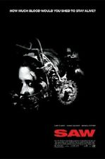 (LAMINATED) SAW MOVIE ONE SHEET POSTER (91x61cm)  PICTURE PRINT NEW ART