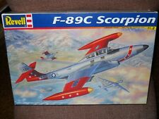 1/48 Revell F-89C Scorpion Kit MIOB Sealed Parts