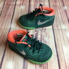 NIKE Kyrie 1 Baby /Toddler Size 7c 717223 green orange Kyrie Irving