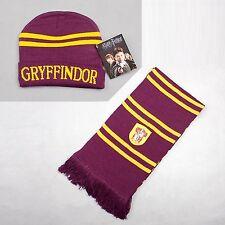 Harry Potter Gryffindor Thickened Schal/Halstuch Mütze Set Kostüm Cosplay