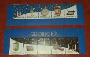 Färöer Vignetten Weihnachten god jul