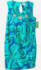 Lilly Pulitzer Dress sz 6 Payton Brewster Big Bang Blue Sleeveless $278 NEW