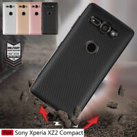 For Sony Xperia XZ2 Compact, Slim Shockproof Soft TPU Silicone Full Cover Case