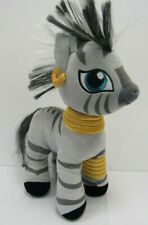 "Build a Bear My Little Pony Zecora 17"" Gray Plush Zebra Stuffed Animal - SAL L59"