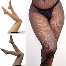 Fashion Sexy Sequin Mesh Long Socks Leggings Thigh-Highs Fishnet Stocking Tight