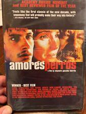 Amores Perros Gael Garcia Bernal DVD Spanish Language Film Academy Awards NEW