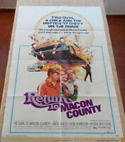 Return to Macon County movie poster, folded, One Sheet, 1975, Nick Nolte, Arkoff