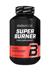 (EUR 67,73/kg) BioTech USA - Super Burner, 120 Tabletten - Diät, Abnehmen -