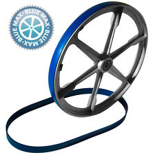 2 BLUE MAX URETHANE BAND SAW WHEEL BELTS REPLACES DELTA NUMBER 1346609