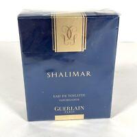 Vintage 1.7 FL Oz Bottle Shalimar Eau De Toilette Natural Spray Guerlain NEW! DR
