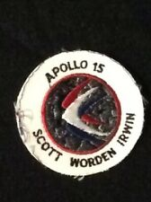 Halloween Astronaut Space Zombie Costume Grade Apollo 15 9th mission NASA Patch