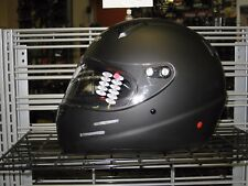 GENUINE KART CART RACING HELMET SNELL K2015 VEGA K2 MATT FLAT BLACK SIZE XL