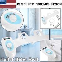 Clean Hot Cold Nozzle Non-Electric Bidet Toilet Water Spray Bathroom Seat US