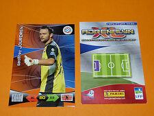JOURDREN MONTPELLIER HERAULT MHSC FOOTBALL FOOT ADRENALYN CARD PANINI 2010-2011