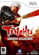 Tenchu Shadow Assassins Nintendo Wii PAL Brand New