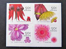 Australian Decimal Stamps: 2005 Australian Wildflowers - Set of 4 P&S MNH