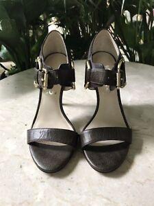 Ladies Michael Kors Strappy Heeled Stilleto Shoes Women's Size 5