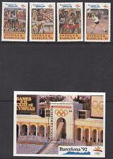 ANTIGUA:1990 Olympic Games (Barcelona)   set + MS SG 1429-32+MS1433