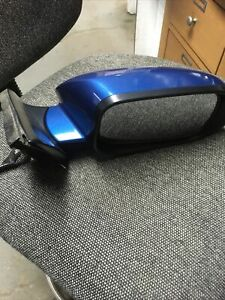 05-08 Acura TSX Arctic Blue Passenger RH Power Heated Side View Door Mirror