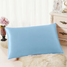 2pc New Queen/Standard Silk~y Satin Soft Pillow Case Multiple Colors Luxurious