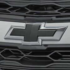 2016-2018 Chevrolet Malibu Genuine GM Front & Rear Black Bowtie Emblems 84337320