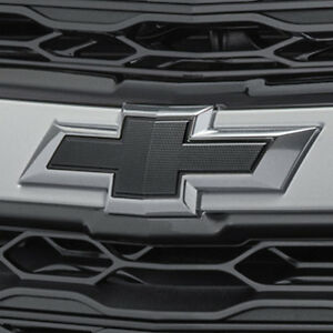 2016-2018 Chevrolet Malibu Genuine GM Front & Rear Black Bowtie Emblems 84337320