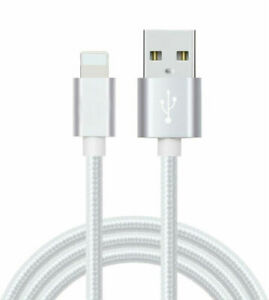 Lot 30 - Braided 10ft USB Charger Cable Sync Cord For iPhone 6 7 8 Plus X Xs Max