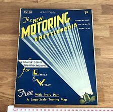 Vintage Art Deco Era 1930's New Motoring Encyclopedia Issue Part 30 April 1937