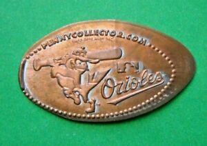 Baltimore Orioles elongated penny MD USA cent MLB Baseball souvenir coin