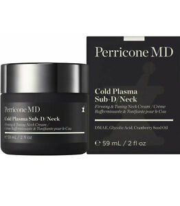 Perricone MD Cold Plasma Sub-D/Neck, 59ml, Firming & Toning Neck Cream, BNIB