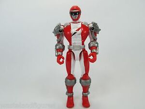 Power Rangers Operation Overdrive Zordtek Cycle RED RANGER Bandai Action Figure
