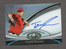 Tyler Skaggs - 2011 Bowman Platinum Prospect Autograph Refractor Auto #BPA-TS