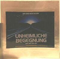 Kino # Film-Werbe-Dia # 85mm x 85mm # Steven Spielberg # Unheimliche Begegnung