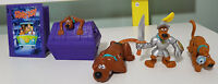 5 SCOOBY DOO FIGURINES KIDS TOYS! PROMOTIONAL TOYS FAST FOOD TOYS!